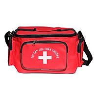 Túi cứu thương Đỏ (nhỏ) 23cm x 15cm x 15cm