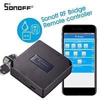 Sonoff RF Bridge 433MHZ Wifi Wireless Intelligent Wi-Fi Remote RF Controller Automation Module Switch For Smart Home