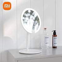 Gương trang điểm xiaomi Mijia LED trang điểm 3 khối lấp đầy ánh sáng dịu nhẹ và không làm cay mắt