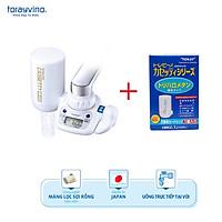 Combo Thiết Bị Lọc Nước Tại Vòi Toray Torayvino MK308T + bộ lọc thay thế Torayvino MKC.TJ (1 máy + 2 bộ lọc)
