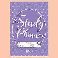 Sổ tay Study planner kế hoạch học tập