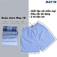 Combo 2 quần đùi nam May 10 phiên bản có túi 2 bên, màu ngẫu nhiên