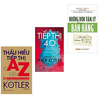 Combo thấu hiểu tiếp thị từ A-Z +thấu hiểu tiếp thị 4.0+những đòn tâm lý trong bán hàng (bản đặc biệt tặng kèm bookmark AHA)