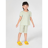 Bộ quần áo mặc nhà cotton cho bé gái CANIFA - 1LS21S014
