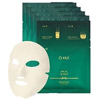 Combo 5 miếng Mặt Nạ Chống Lão Hoá Ohui Prime Advancer Ampoule Mask 3 Step 37ml