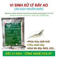 VƯỜN SINH THÁI - Chế phẩm vi sinh hồ cá, tôm BZT. Xử lý nước, làm sạch nhớt đáy ao. Ức chế tảo lam, khí độc. Hàng tỷ bào tử hữu hiệu từ HOA KỲ