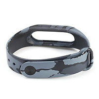 Camouflage Replacement Wristband Band Wrist Strap for Xiaomi Mi Band 2