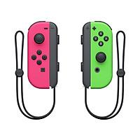 Tay cầm Nintendo Switch Joy‑Con Neon Pink/ Neon Green - Hàng Nhập Khẩu