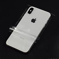 Miếng dán PPF Full viền mặt lưng sau cho iPhone XS Max hiệu WOTAER Tự hồi phục vết trầy  - Hàng chính hãng