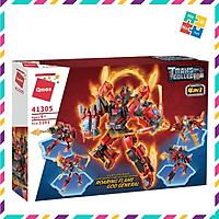 Bộ Đồ Chơi Xếp Hình Thông Minh Lego 1000 Chi Tiết Qman Robot Red Soldier 41305 Cho Trẻ Từ 6 Tuổi Lắp Từ 4 Con Nhỏ