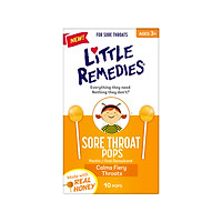 USA little remedies SORE THROAT  POPS 10 pieces