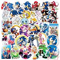 Set 60 Sticker Sonic The Hedgehog- Nhím Sonic
