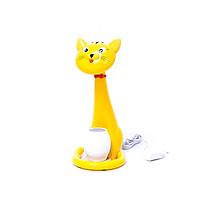 Đèn bàn LED chống cận con mèo màu vàng