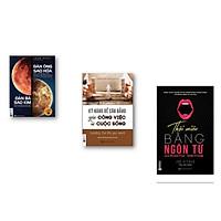 Combo 3 cuốn ; Kỹ năng để cân giằng công việc và cuộc sống+ Đàn ông sao hỏa đàn bà sao kim+ Thuật thôi miên bằng ngôn từ( tặng 1 giá đỡ iring cute)