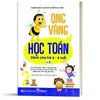 Sách - Ong Vàng Học Toán Dành Cho Trẻ 4-6 tuổi tập 3 - Học Kèm App Online