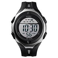 SKMEI 1492 Men Watch Analog Digital Electronic Watch Fashion Casual Outdoor Sports Male Wristwatch 3 Time Display Alarm