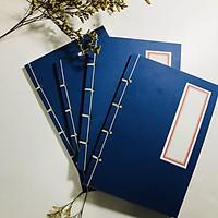 Sổ tay Tập viết chữ hán phong cách cổ trang, sổ tay kẻ dọc Khổ a5 120 trang