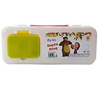 Hộp Bút Kid Kit Duyên Dáng HB-007 - Thân Bút Màu Cam