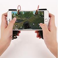 Tay Cầm Hỗ Trợ Chơi Game 3 Trong 1 HANDLEMV - Combo 3 món Gamepad, Joystick, Nút Hỗ Trợ Chơi Game Mobile Mã HANDLEMV