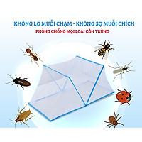 Màn Chụp Gấp Gọn Thông Minh Mùng Lưới Chống Muỗi Cho Người Lớn Và Trẻ Em Momy20 Shop