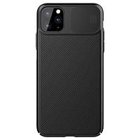 Ốp lưng chống sốc bảo vệ Camera cho iPhone 11 Pro (5.8 inch) hiệu Nillkin Camshield (chống sốc cực tốt, chất liệu cao cấp, có khung & nắp đậy bảo vệ Camera) - Hàng chính hãng