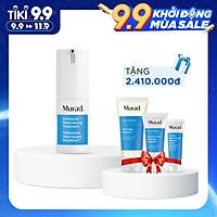 Bộ sản phẩm giảm mụn Murad: Invisiscar Resurfacing Treatment (15ml) Tặng Clarifying cleanser (60ml) + Outsmart Acne  Treatment (24ml) + Oil And Pore Control  SPF 45 | PA++++ (24ml)