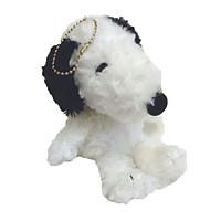 Móc treo chó bông Snoopy - đen- 20cm