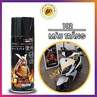 Sơn xịt Samurai màu Trắng - 102 (400 ml)