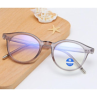 Boy Girl Glasses Clear Lens Anti Blue-ray Retro Full Round Frame Student Goggle Eyeglasses