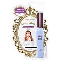 Mascara Chuốt Dày Mi, Dưỡng Mi Màu Đen Nhật Bản Koji Dolly Wink Volume Mascara III Black, Chống Mồ Hôi, Không Bị Vón Cục