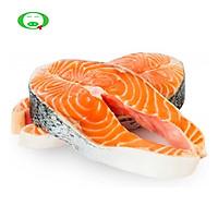[Chỉ Giao HCM] - Cá hồi đông lạnh cắt khúc 1kg