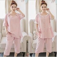 Pijama Bầu, Sau sinh Lửng Có Thiết Kế Cho Bé Ti AZ143
