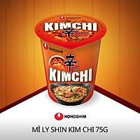 Mì Nongshim Shin Kimchi Ly 75g - nước súp mì vị kimchi thơm ngon đậm vị Hàn Quốc