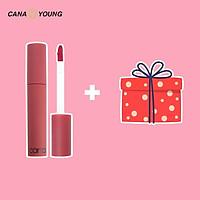 Son Lì dạng kem Cana Creamy Lip Mousse và set kit du lịch