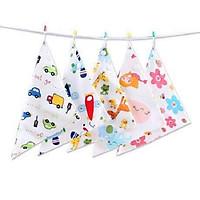 Combo 5 khăn yếm tam giác cho bé Goodmama LT20