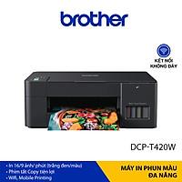 Máy in phun màu đa năng Brother DCP-T420W