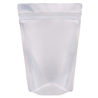 Túi zip mặt trong mặt bạc đáy đứng 12x17cm (1kg)