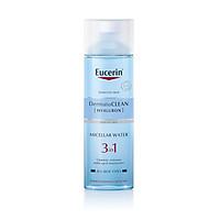 Nước tẩy trang dịu nhẹ cho da nhạy cảm Eucerin DermatoCLEAN Hyaluron Micellar Water 3 in 1 200 ml (Nhập khẩu)