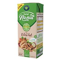 Thùng sữa hạt tự nhiên ít đường Nutricare Nunut (180ml x 48 hộp)