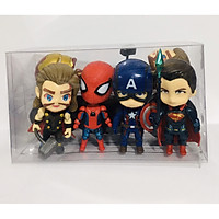 Bộ Mô hình tượng siêu anh hùng set 6 Figure cao 11cm