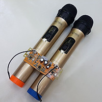 Micro không dây UHF cho loa kéo kèm bo