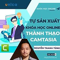 - Khóa học KINH DOANH- Trọn bộ bí quyết tự sản xuất khóa học online- Thành thạo Camtasia- UNICA.VN