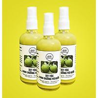 Tinh Dầu Bưởi Ngăn Ngừa Rụng Tóc GEO ( 3 chai / 300ml ) - Kích thích mọc tóc nhanh, giảm rụng tóc hiệu quả