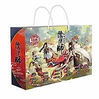 Túi quà anime chibi hình chữ nhật Âm dương sư tặng thẻ Vcone