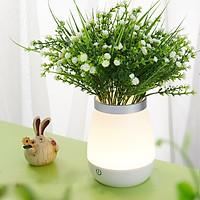 Bình cắm hoa cảm ứng có đèn LED phát sáng OneFire - L06 tặng kèm hoa giả ngẫu nhiên