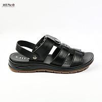 Sandal nam da bò cao cấp đế cao 3.5cm SD96-DE