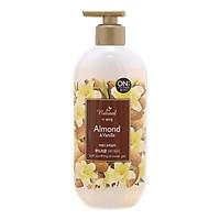 Sữa Tắm On The Body Natural Almond & Vanilla (Hạnh Nhân & Vani) (500g)