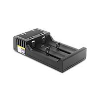 Bộ Sạc Pin Liitokala Lii-S2 2 Ngăn Với Màn Hình LCD Pin 8650 26650 21700 18350 AA AA Lithium NiMH