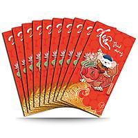 Combo 10 Bao Lì Xì Xuân 2020 - Xuân Thịnh Vượng - MT-LX04