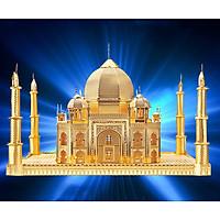 Mô hình thép 3D tự ráp đền Taj Mahal